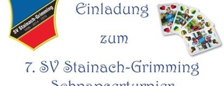 7. SV Stainach-Grimminger Schnapserturnier