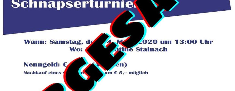 ABGESAGT - 8. SVSG Schnapserturnier