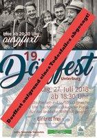 19. Dorffest in Unterburg - ABGESAGT!!!